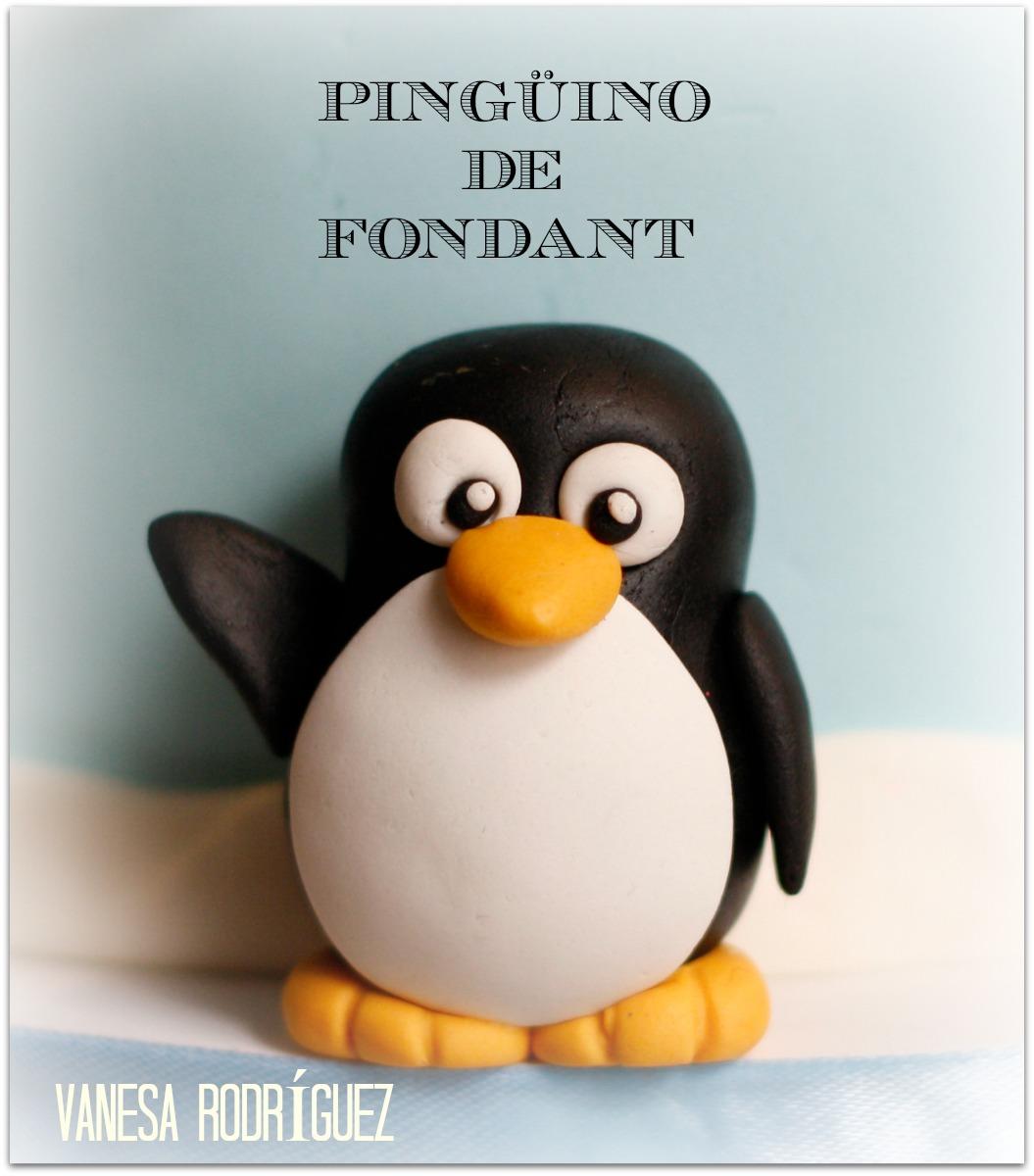 pinguino de fondant