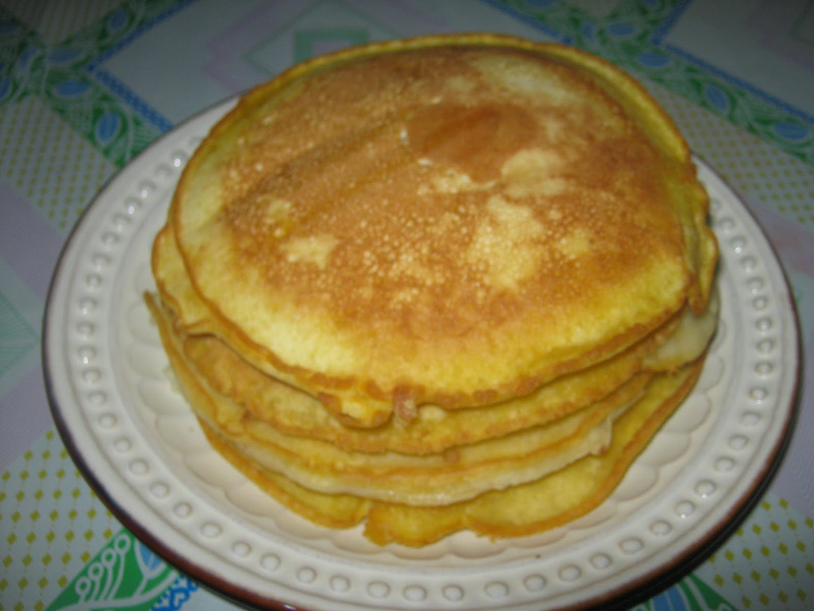 Recipe For Hot Cake Or Pancake