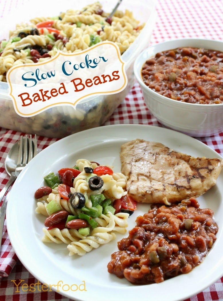 Yesterfood : Slow Cooker Baked Beans