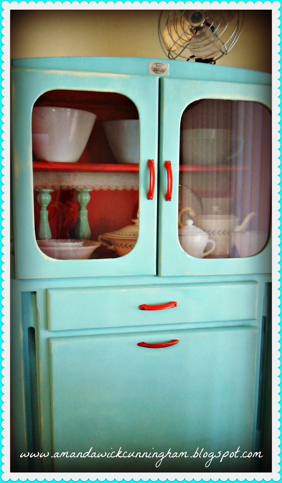 Kaleidoscope Of Colors My New 1950s Hoosier Cabinet