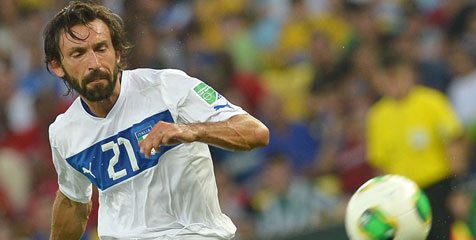 Carlo Ancelotti ingin Andrea Pirlo ke Real Madrid