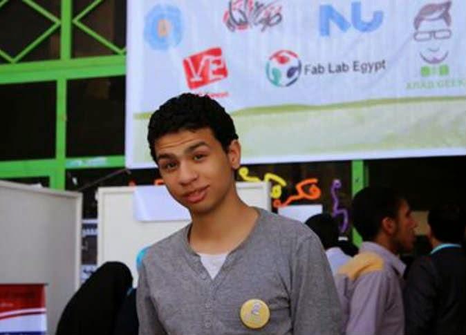 منع عبد الله عاصم، أصغر مخترع مصري من السفر
