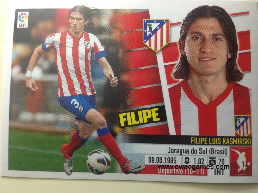 Liga ESTE 2013-14 Atl. de Madrid - 7 - Filipe