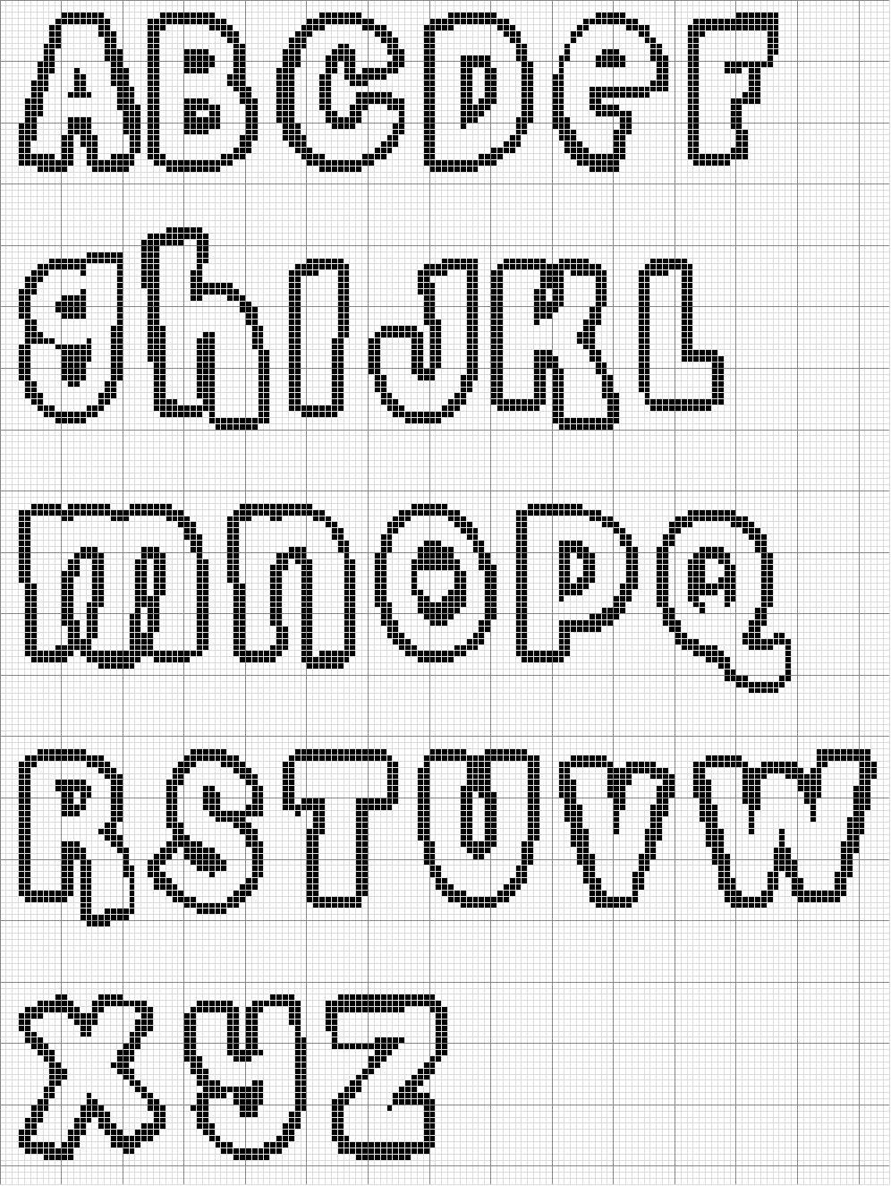 Alfabeto e Letras para Colorir