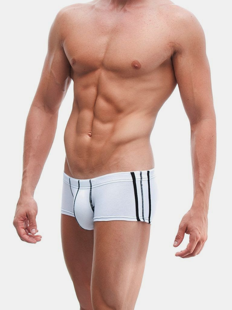 ManView 69 Micro Shorty Boxer Underwear White Gayrado
