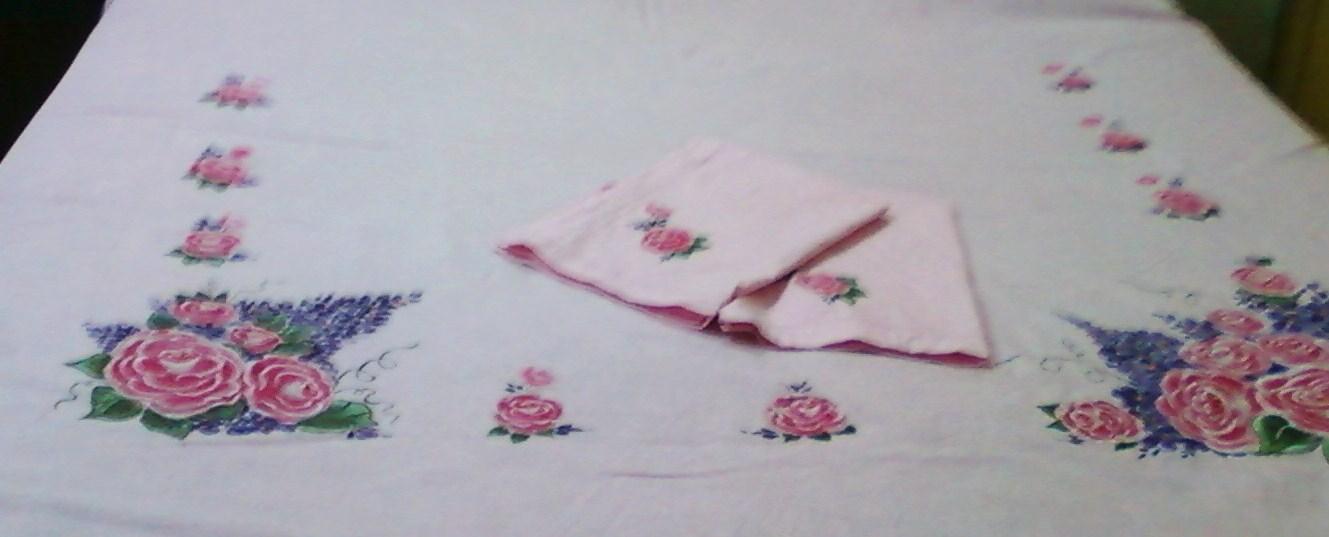 Anitakumarcrafts Hand Painted Bedsheet