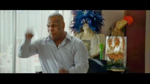 Mike Tyson hangover