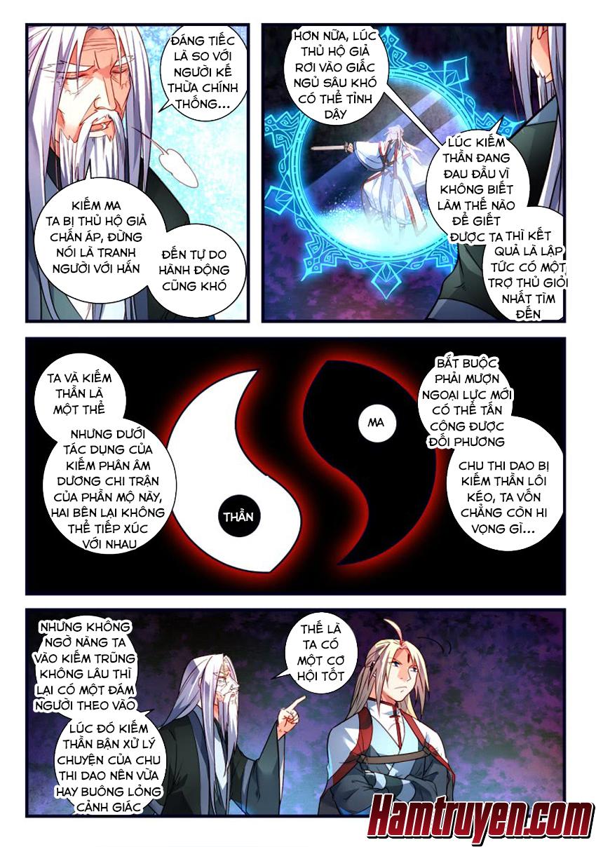 Tung Tiền Hữu Tọa Linh Kiếm Sơn Chap 360 - Trang 7