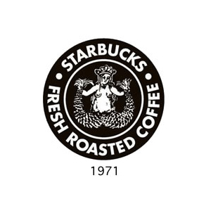 successful logo design evolution of starbucks logo