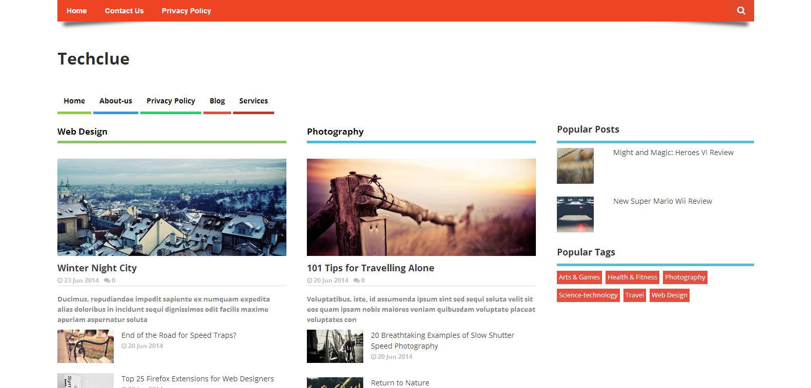 Chia sẻ Template Blogspot chuẩn Seo làm Blog cá nhân