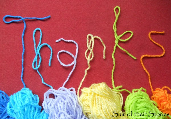 yarn thanks for my 1 year Blogiversary