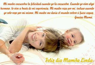 Feliz día mamita linda