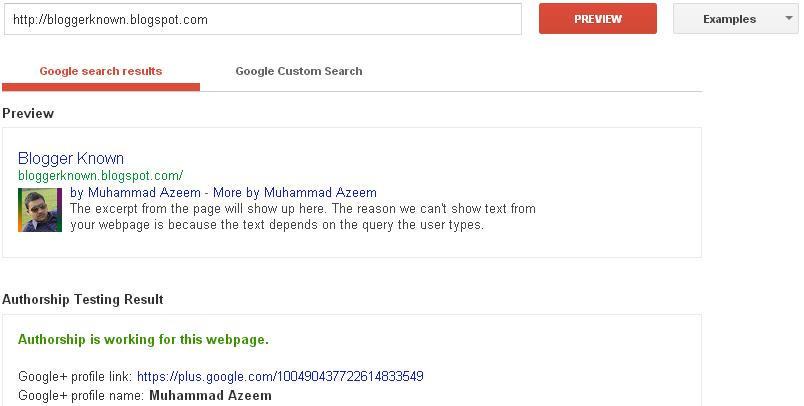 Google rich snippets tool results