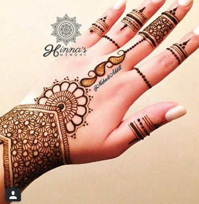 Latest Mehndi Designs Or Henna Styles For Girls New Eid Arabic