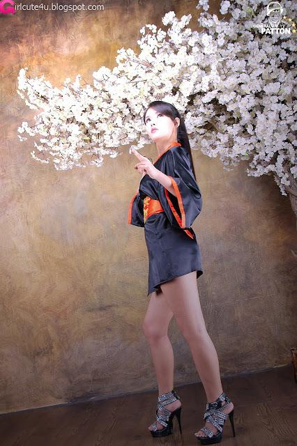 10 Cha Sun Hwa - Samurai Girl-very cute asian girl-girlcute4u.blogspot.com