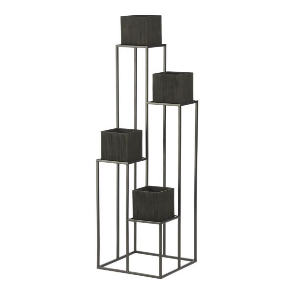Copy Cat Chic Crate And Barrel Quadrant Plant Stand