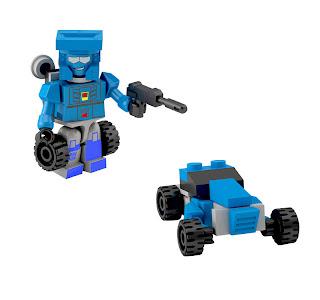 Hasbro Transformers Kre-O Micro Changers Series 2 - Beachcomber