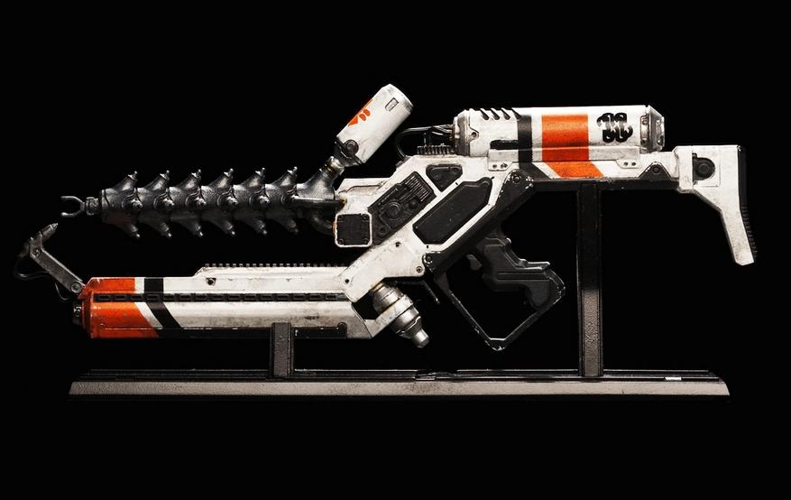 Quinze armas da fic o cient fica momentum saga - Pistolas para lacar ...