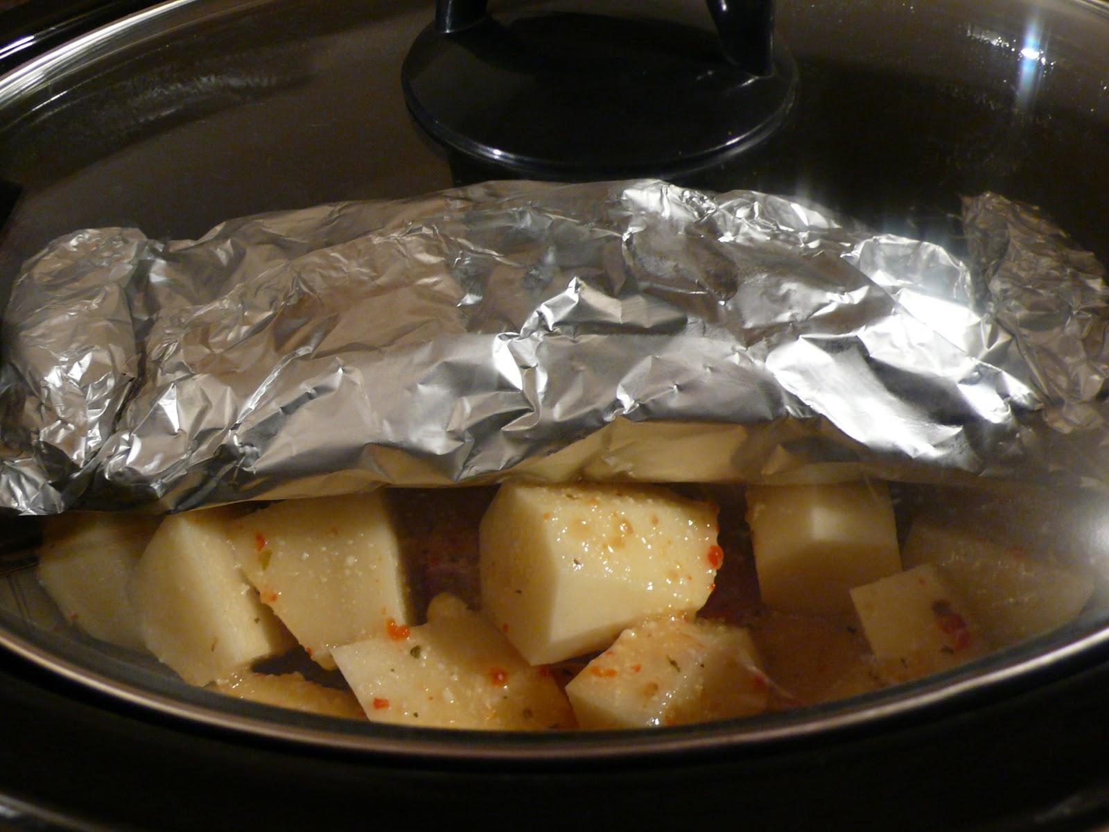 ... Domestic: Slow Cooker All-In-One Italian Pork Tenderloin Dinner