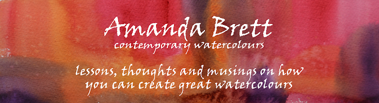 Amanda Brett - Contemporary Watercolour Artist, Tutor, Speaker and Author