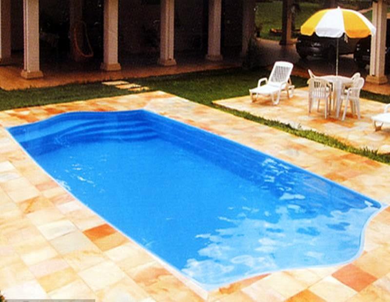 Piscinas de fibra tamanhos design de for Fotos de piscinas