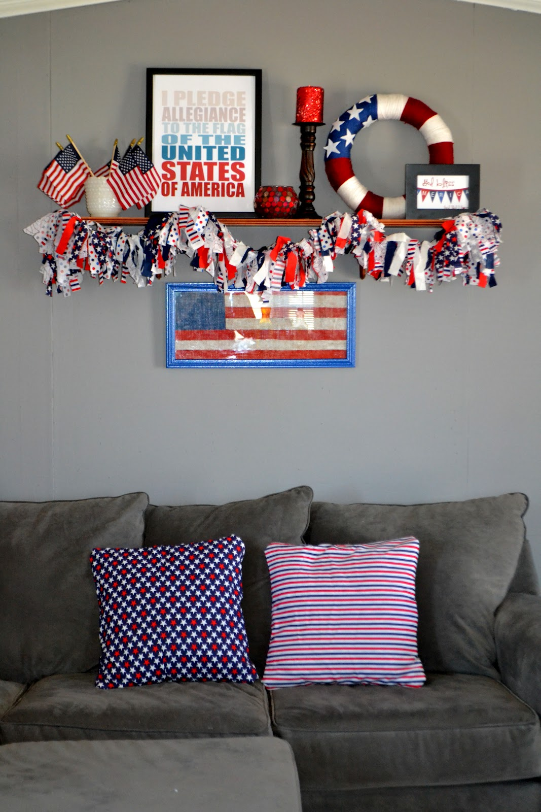 4th of july diy decorations display for under 10 it for Decoration 4 july