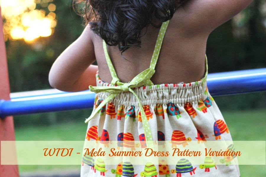 Free sewing tutorial for dress little girl