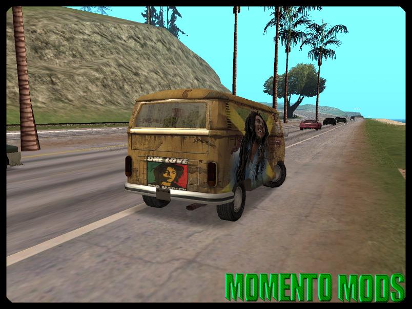 GTA SA - Kombi Bob Marley