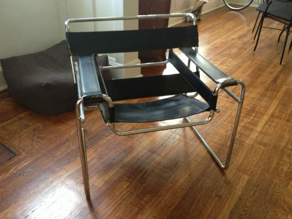 The room journal thrifty finds 1 - Wassily chair replica ...