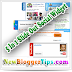 Add 5 in 1 Slide Out Social Follower Box Widget to Blogger - Updated