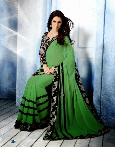 Indian Elegant Sarees Collection 2014
