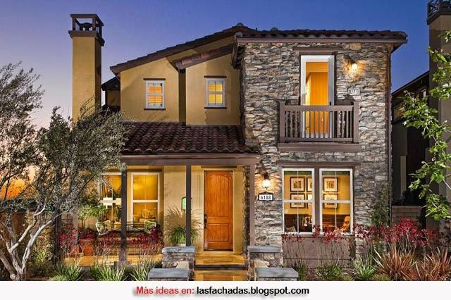 Fachadas de casas r sticas fachadas de casas y casas por for Exteriores de casas rusticas