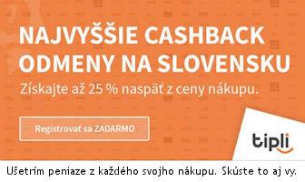Získajte cashback