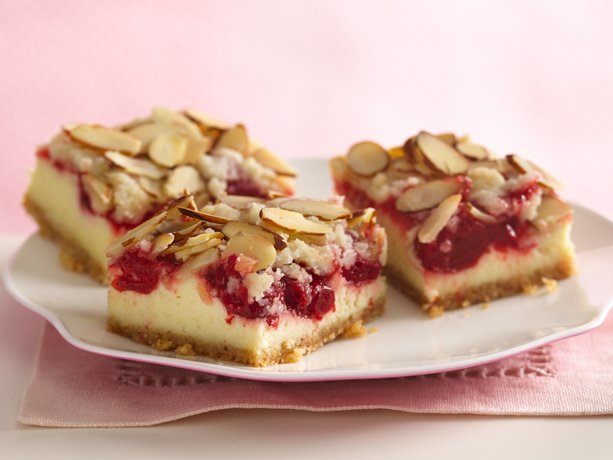 ... Herb Farm Gourmet Corner: Almond Streusel-Cherry Cheesecake Bars