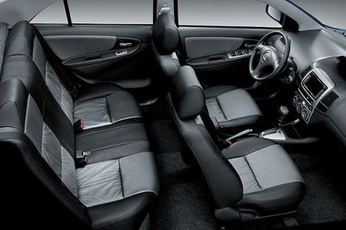 Nội thất Toyota Vios 1.5G 2012
