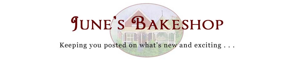 June's Bakeshop Blog