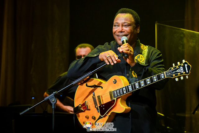 Interact with the crowd! George Benson Live In KL Inspiration Tour