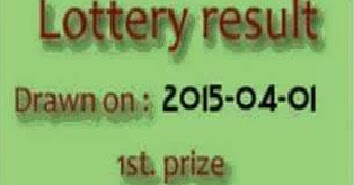 Sikkim lottery result today 4pm