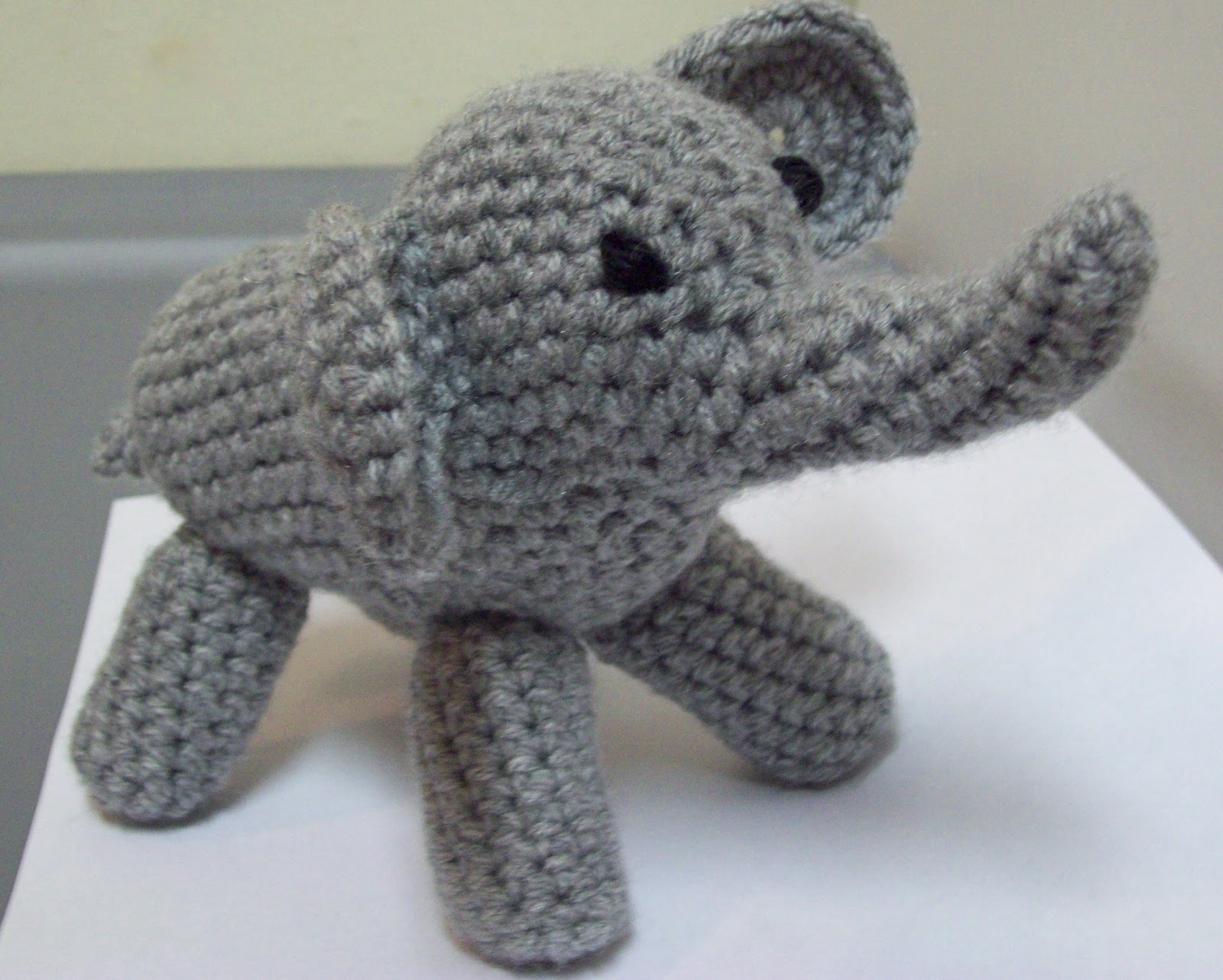Crochet Elephant : The Philosophers Wife: Amigurumi (Crochet) Elephant