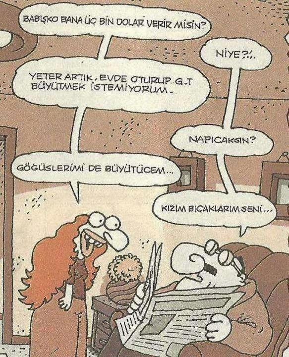 Baba_Kız_Karikatürü