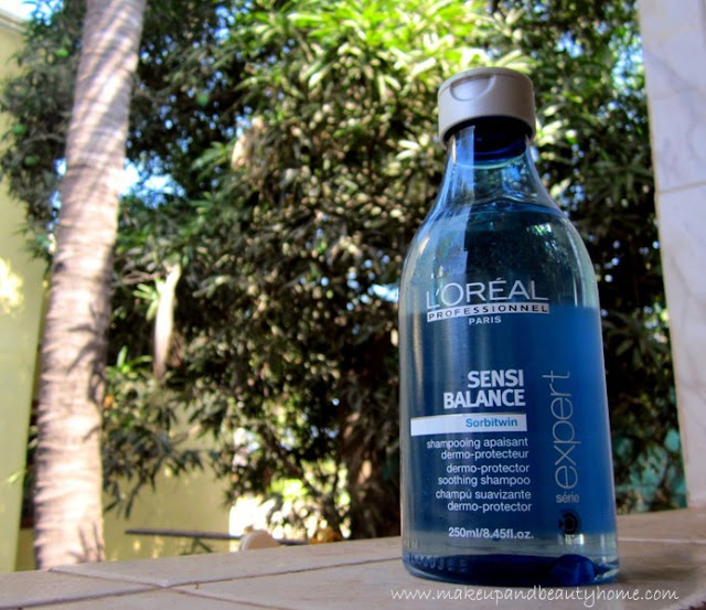 L'Oreal Professional Serie Expert Sensi Balance Shampoo Review - Makeup And Beauty Home