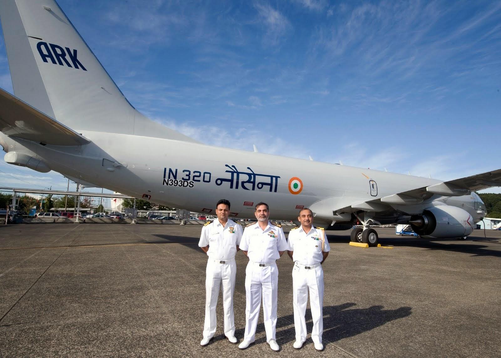 Indian Received 4th P-8I Poseidon MPA
