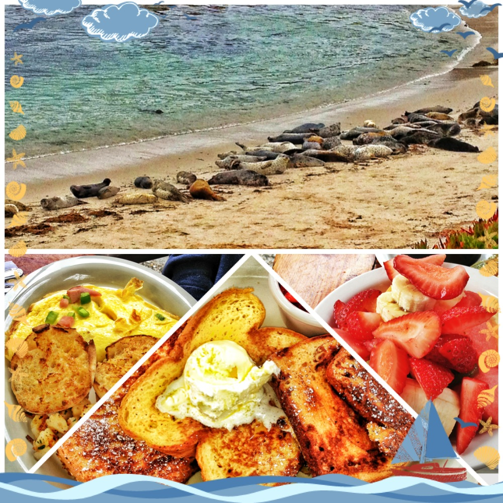 Breakfast in Monterey Bay