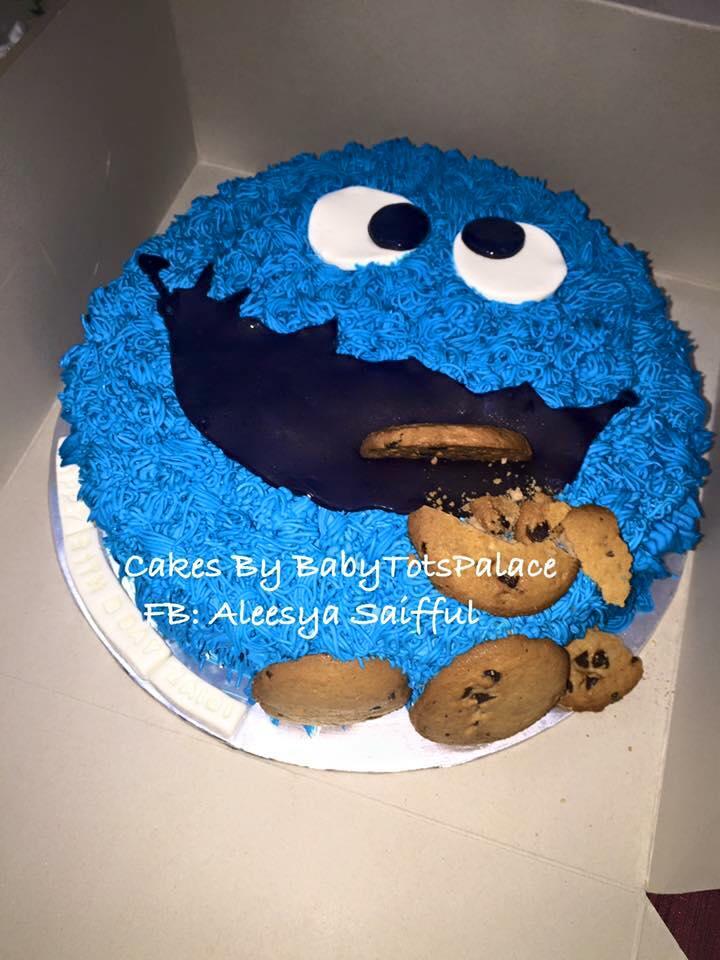 Flair Cakes Sisters Sesame Street Cakes