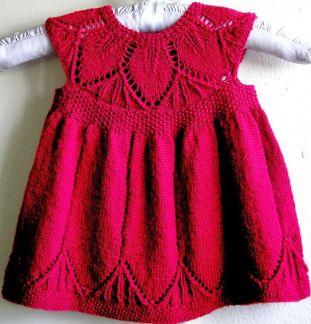 Страна мам вязание спицами платье на девочку