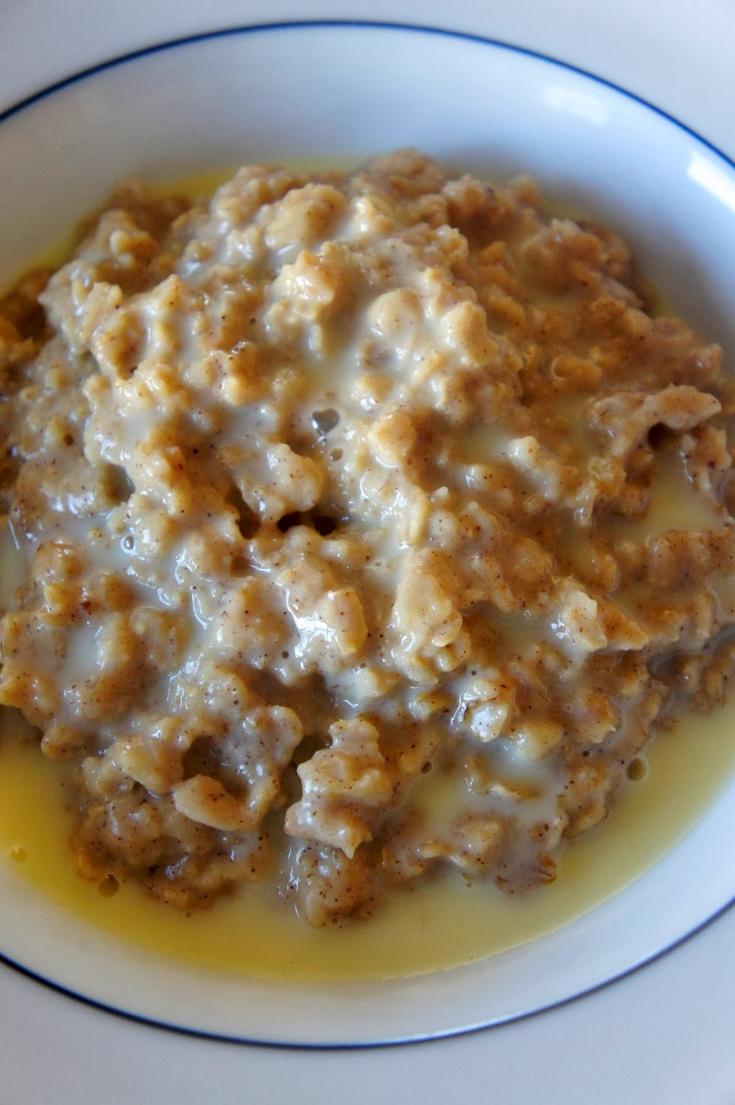 Savory Sweet and Satisfying: Eggnog Oatmeal