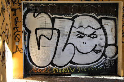 Grafitti Door Seville