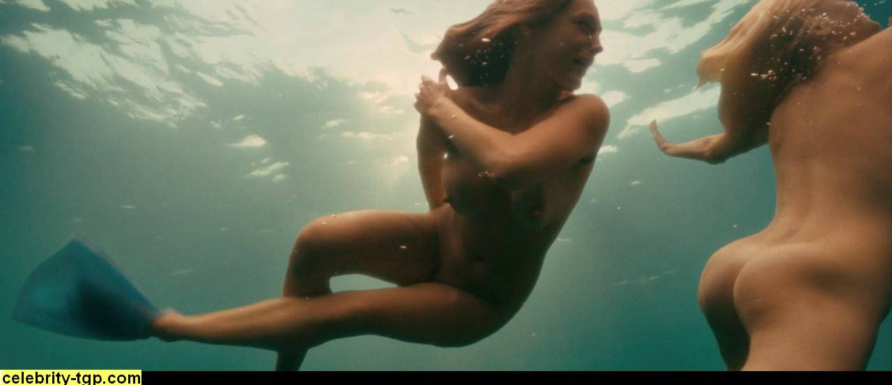 underwater nude brook Kelly