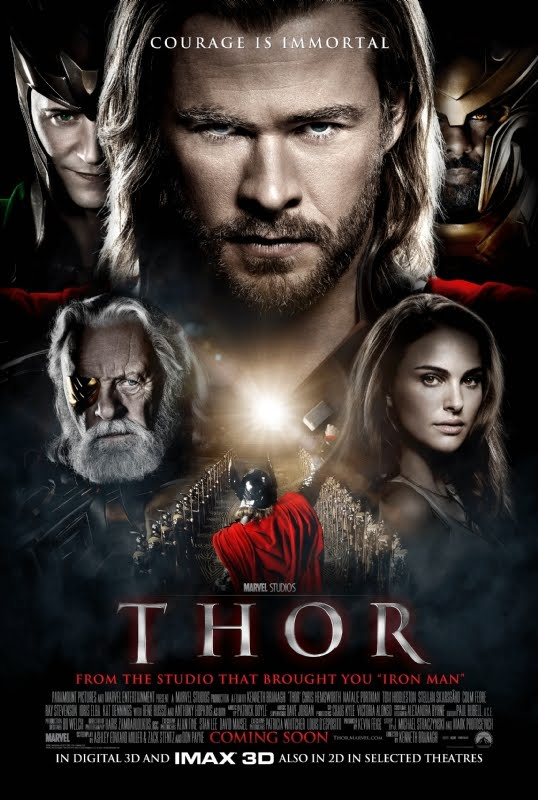 Thor%2BGod%2Bof%2BThunder%2Bposter Thor Dual Audio DVDRip AVI
