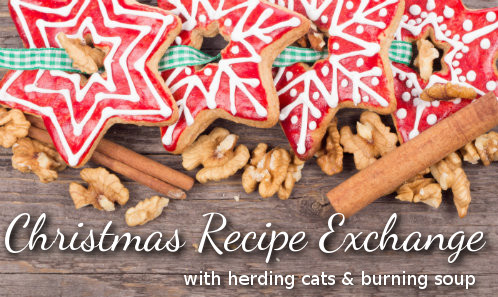 recipes, christmas, cooking, christmas card exchange
